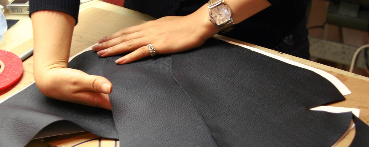 Bolsas feitas a mão