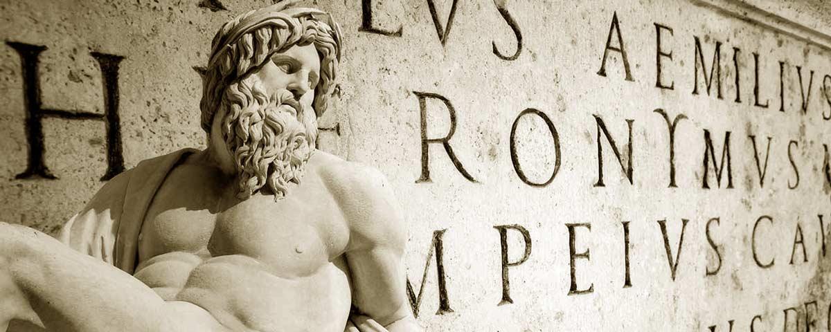 Inscription au latin