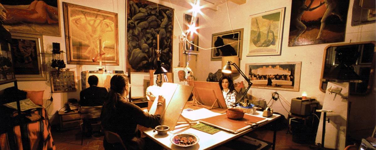 Atelier di pittura