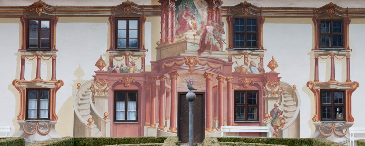 Trompe l\'oeil course in Florence